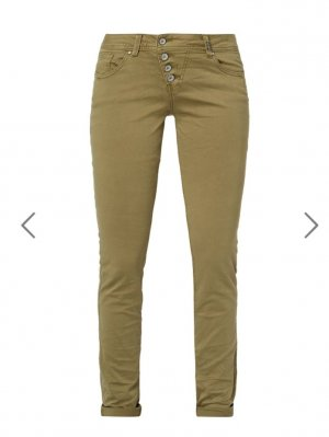 buena-vista-coloured-slim-fit-jeans-khaki Gr M