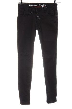 Buena Vista Five-Pocket Trousers black casual look