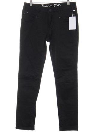 "Buena Vista Pantalon cinq poches ""CUBA"" noir"