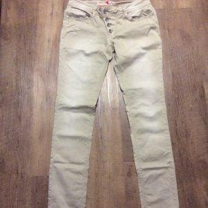 Buena Vista Pantalone elasticizzato beige chiaro-color cammello
