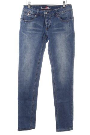 Buena Vista Hüfthose blau-kornblumenblau Casual-Look