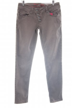 Buena Vista Low Rise Jeans brown casual look