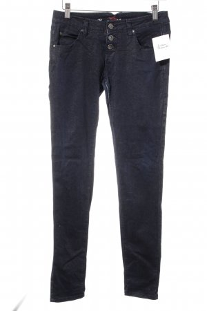 Buena Vista Low Rise Jeans dark blue shimmery