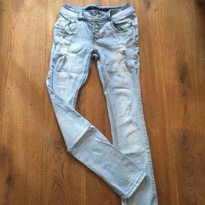 Buena Vista Slim Jeans azure