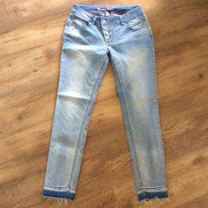 Buena Vista Stretch jeans azuur-staalblauw