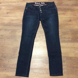 Buena Vista Jeans slim bleu coton