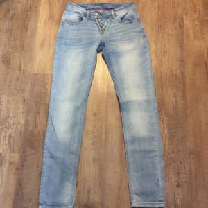 Buena Vista Jeans slim bleu azur