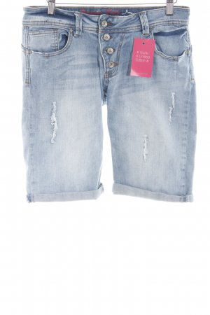 Buena Vista Jeansshorts neonblau Casual-Look