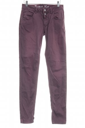 Buena Vista Pantalone peg-top bordeaux stile casual