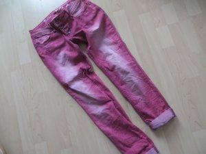 Buena Vista Malibu weinrot used Waschung Gr.S (36) Boyfriend Jeans