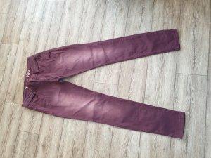 Buena Vista pantalón de cintura baja púrpura