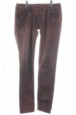 Buena Vista Drainpipe Trousers brown-light brown color gradient second hand look