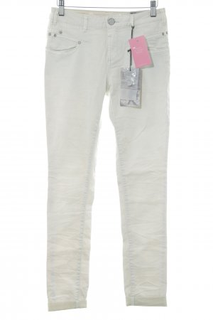 Buena Vista Pantalon cigarette beige clair style simple