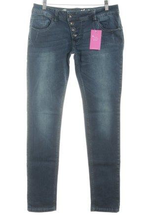 Buena Vista Röhrenjeans blau Jeans-Optik