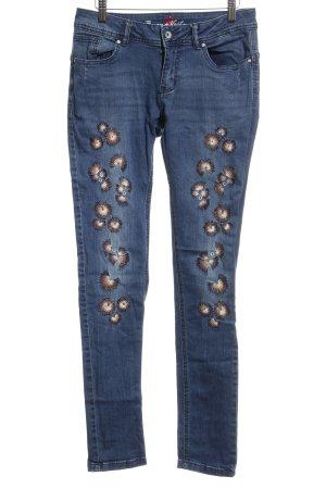 Buena Vista Tube Jeans steel blue casual look