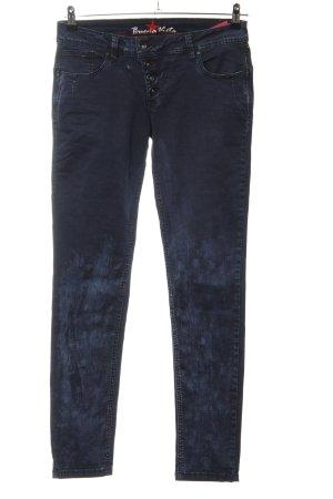 Buena Vista Skinny Jeans schwarz-blau Casual-Look