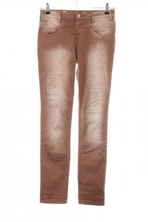 Buena Vista Skinny Jeans brown casual look
