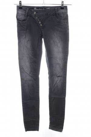 Buena Vista Skinny Jeans black casual look