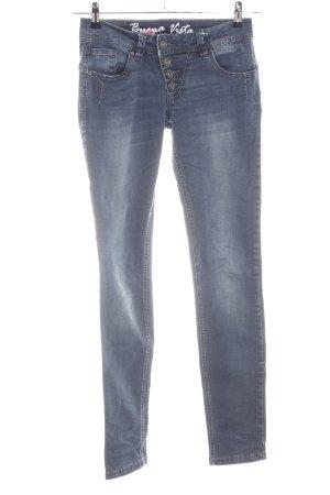 Buena Vista Skinny Jeans blau Casual-Look