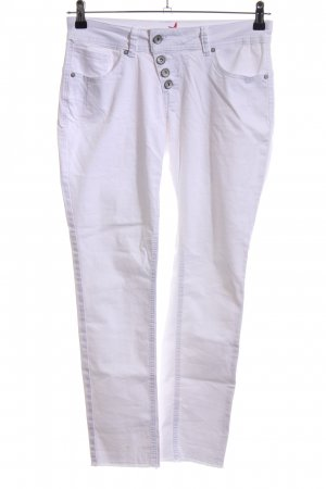 Buena Vista Skinny Jeans weiß Casual-Look