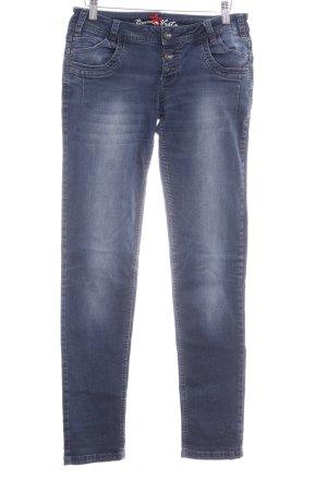 Buena Vista Skinny Jeans dunkelblau Casual-Look