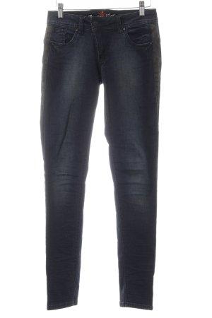 Buena Vista Skinny Jeans dunkelblau-schwarz Casual-Look