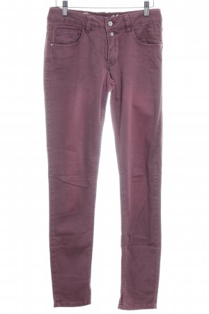 Buena Vista Skinny jeans grijs-lila casual uitstraling