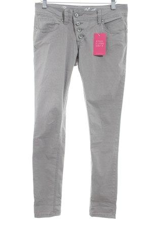 Buena Vista Skinny Jeans hellgrau Karomuster Casual-Look