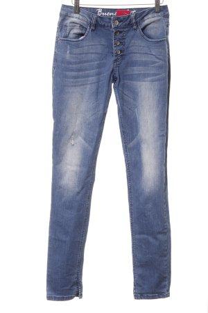 Buena Vista Skinny Jeans kornblumenblau Casual-Look