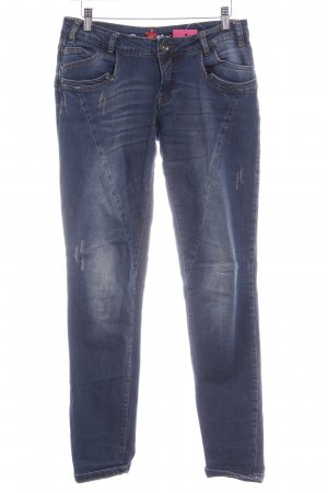 Buena Vista Skinny Jeans stahlblau Casual-Look