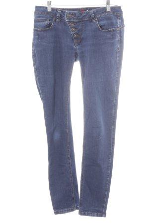 Buena Vista Skinny Jeans stahlblau klassischer Stil