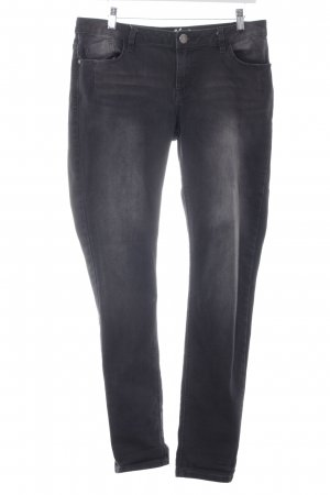 Buena Vista Slim Jeans anthrazit Washed-Optik