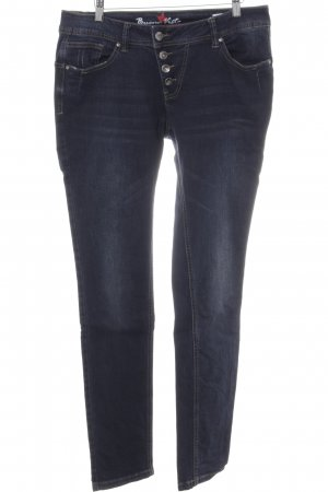 Buena Vista Slim Jeans dunkelblau Jeans-Optik