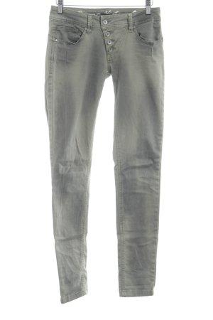 Buena Vista Slim Jeans grüngrau Casual-Look