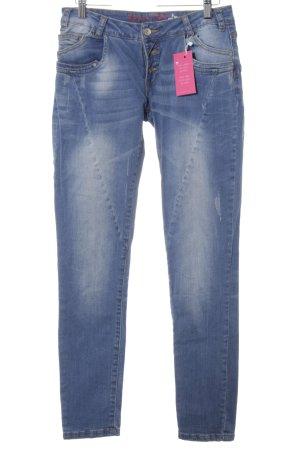 Buena Vista Slim Jeans hellblau Casual-Look