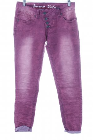 Buena Vista Slim Jeans magenta Casual-Look