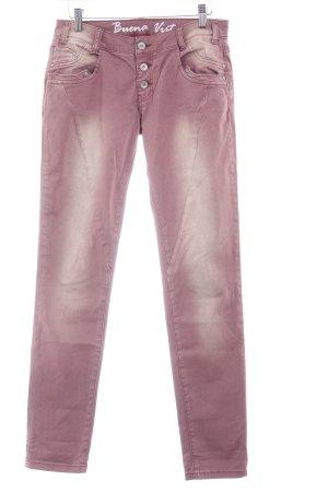 Buena Vista Slim Jeans magenta Urban-Look