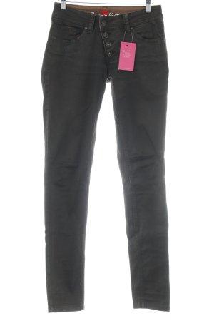 Buena Vista Slim Jeans schwarzbraun Casual-Look