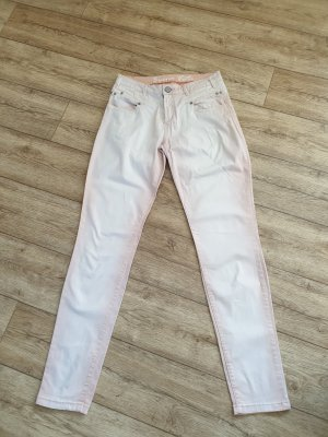 Buena Vista Pantalone a vita bassa rosa pallido