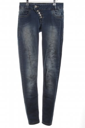 Buena Vista Straight-Leg Jeans blau Casual-Look