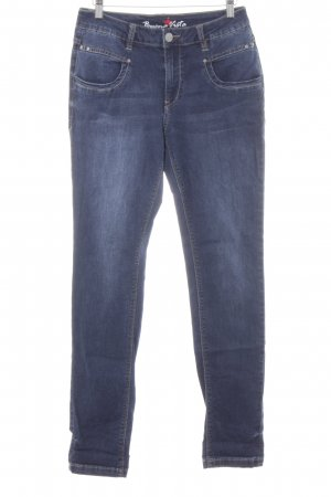 "Buena Vista Straight-Leg Jeans ""ANNA C"" dunkelblau"