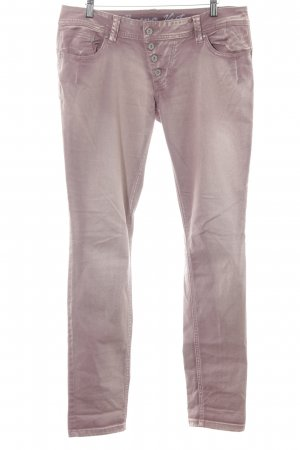 Buena Vista Straight-Leg Jeans blasslila-nude Washed-Optik
