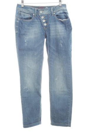 Buena Vista Straight-Leg Jeans graublau Casual-Look