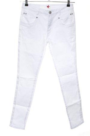 Buena Vista Stretch Jeans weiß Casual-Look