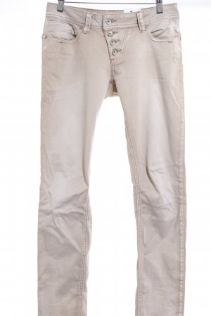 Buena Vista Stretch Jeans hellbeige-beige Casual-Look