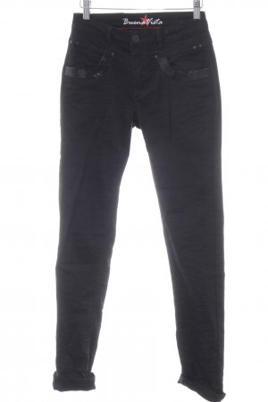 Buena Vista Stretch Jeans schwarz Casual-Look