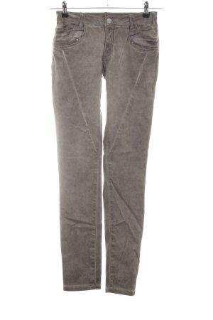 Buena Vista Stretch Trousers light grey casual look