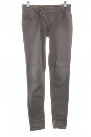 Buena Vista Stretch Trousers light grey street-fashion look