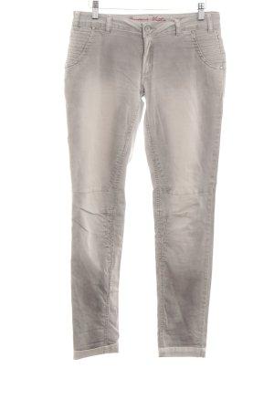 Buena Vista Pantalón elástico gris claro-beige claro look lavado