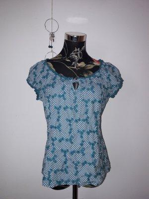 Bündchen Bluse Gr. 40